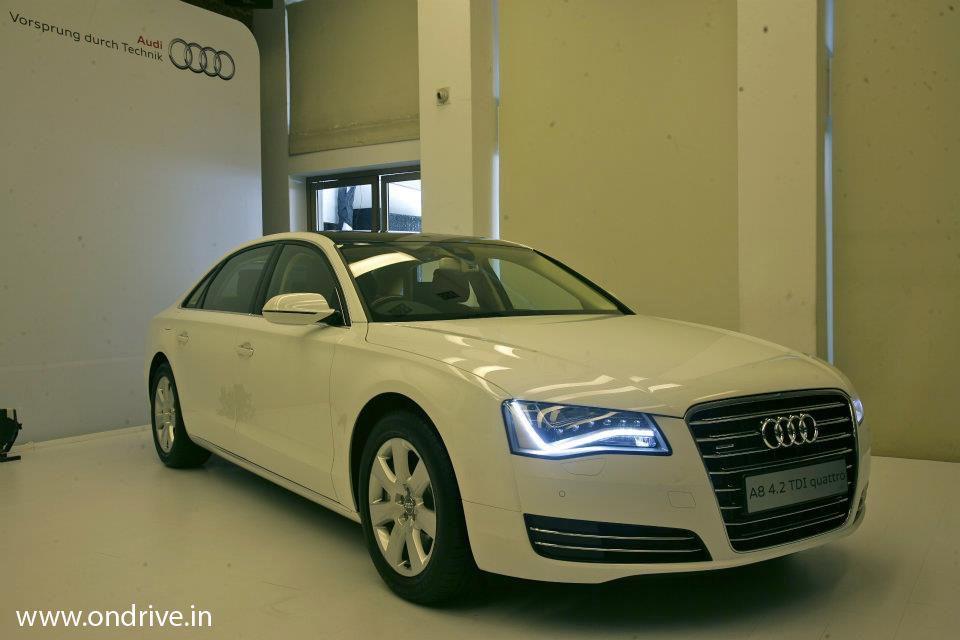 Audi A8l 42 Tdi Quattro Specification Price In India