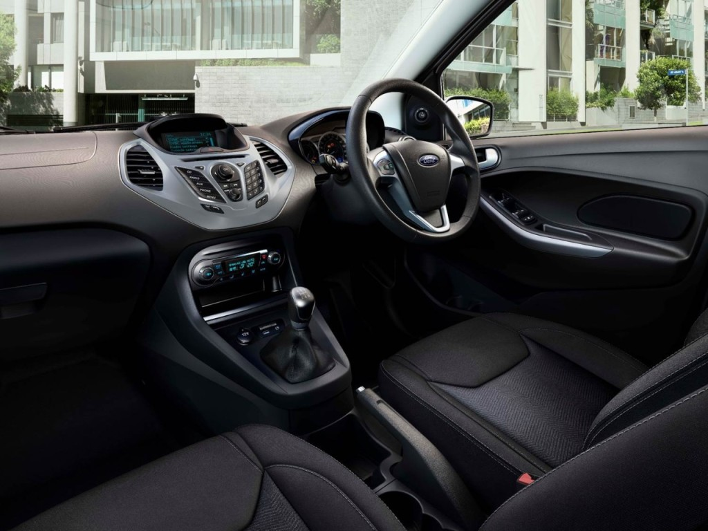 All-New Ford Figo Interiors