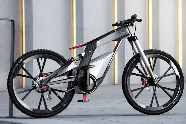 Audi E Bike A Bicycle With The Speed Of 80 Kmph