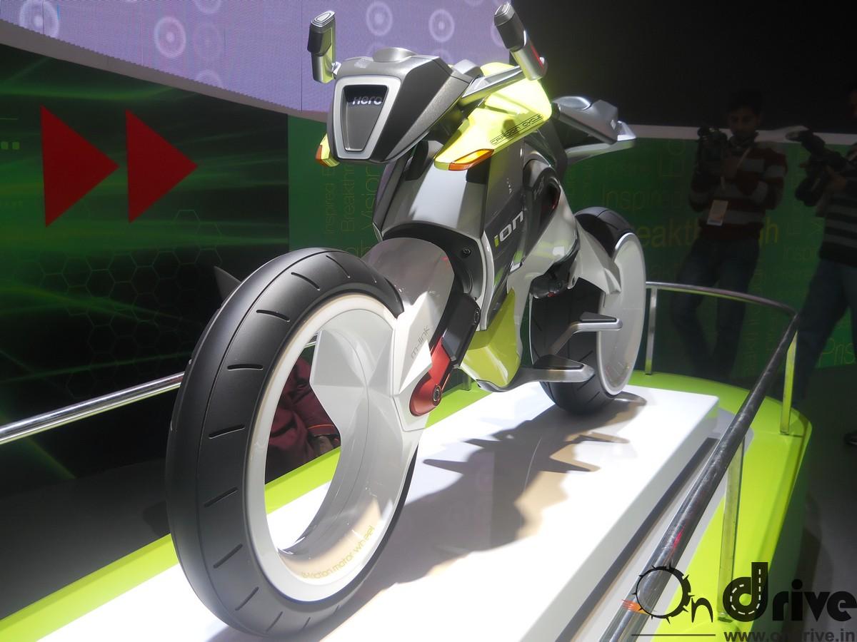 Hero Unveils Ion Amp Simplecity Concept Bikes