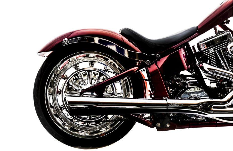 Big Dog K9 Red Chopper-111