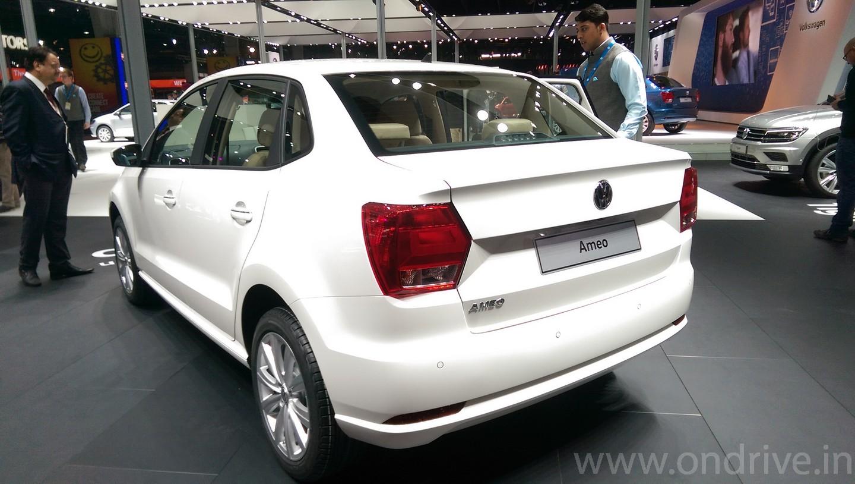 Volkswagen Ameo - Compact Sedan with Cruise Control & Rain Sensing Wiper