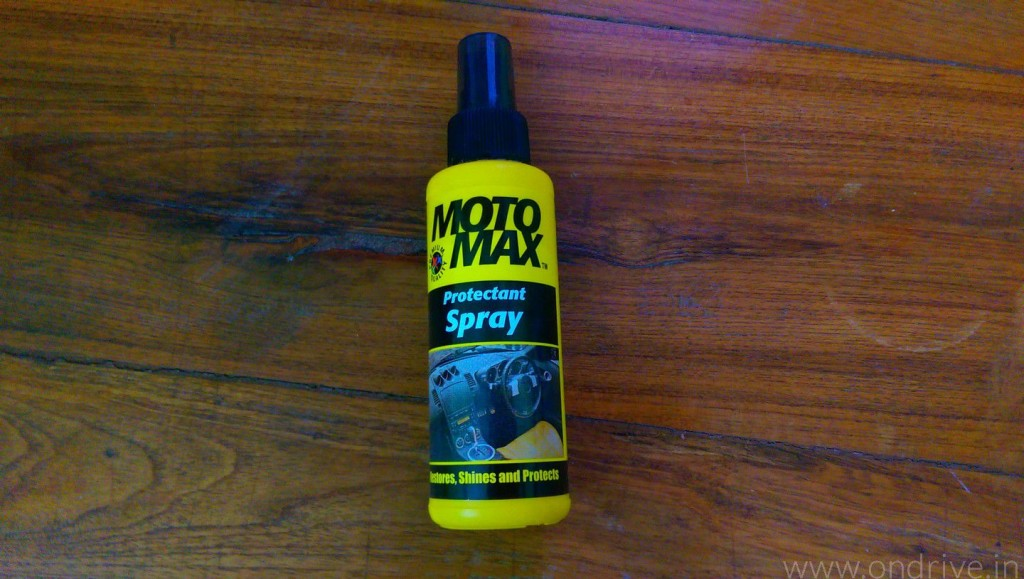 Motomax Protectant Spray