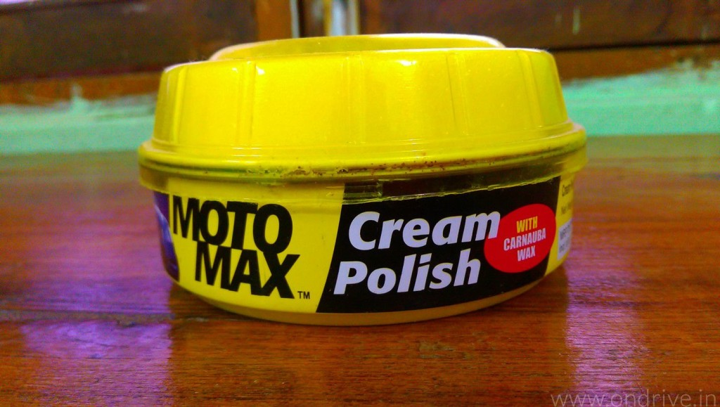 Motomax Cream Polish