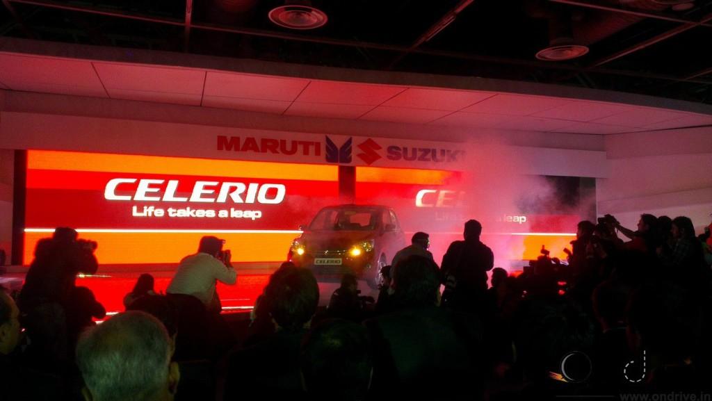Marut Celerio Auto Expo 2014