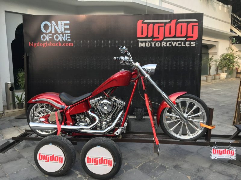 Big Dog K9 Red Chopper-111