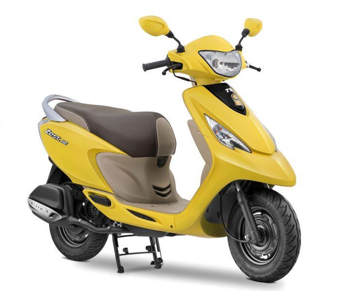 2017 TVS Scooty Zest 110