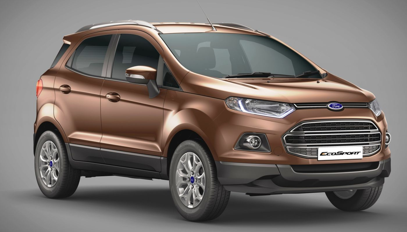 New Ford Ecosport Launch Improved Diesel Engine 6 79 Lakh