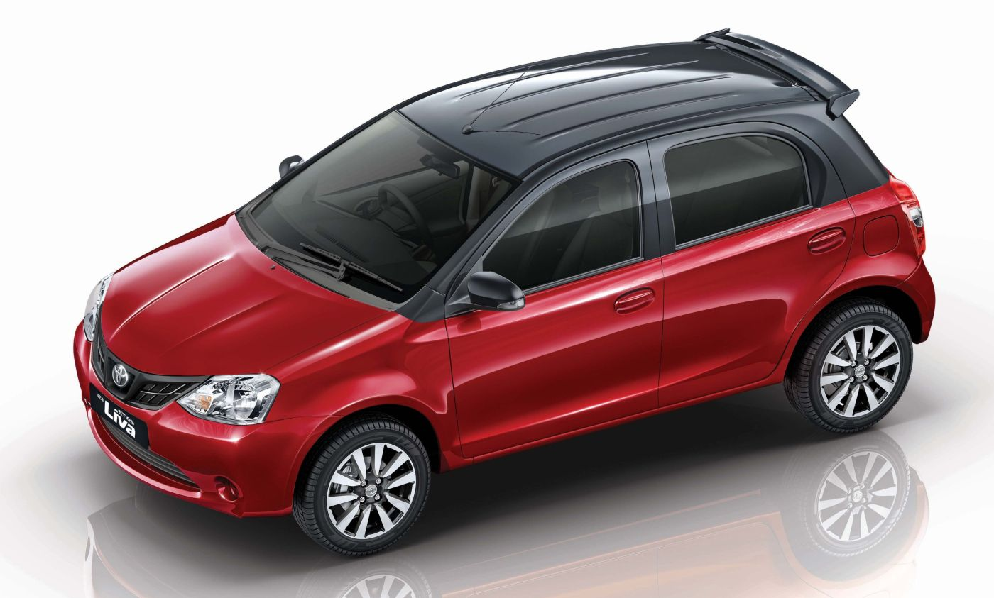 Toyota New Liva Red