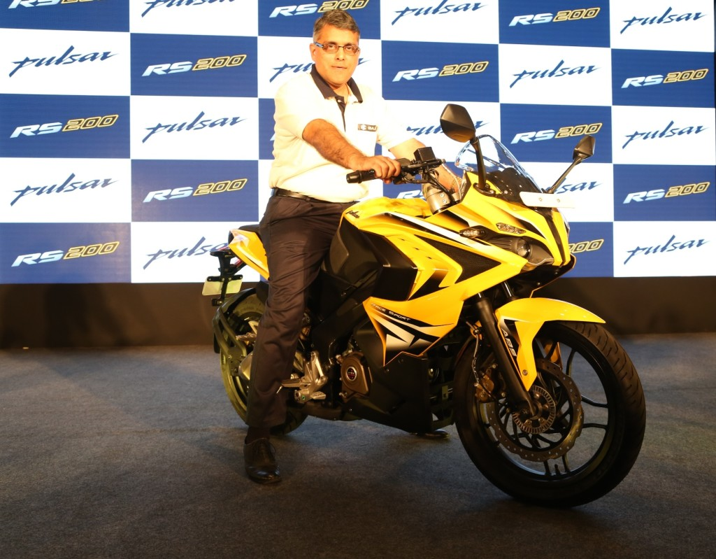 Bajaj Pulsar RS 200 India Price