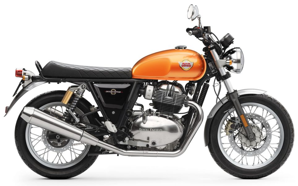 Royal Enfield Interceptor INT 650 - Orange Crush RHS