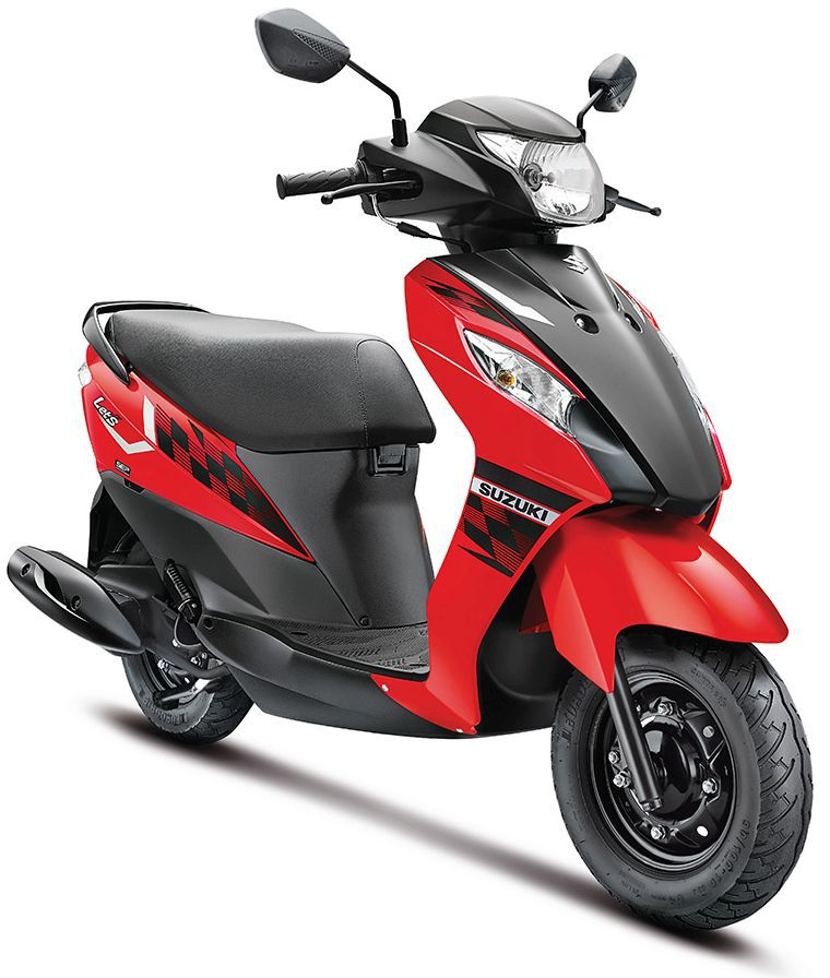 SUZUKI LET'S IN TRENDY NEW DUAL-TONE COLOURS RED