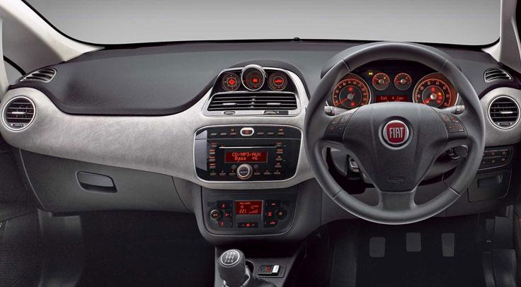Fiat Avventura Interior India