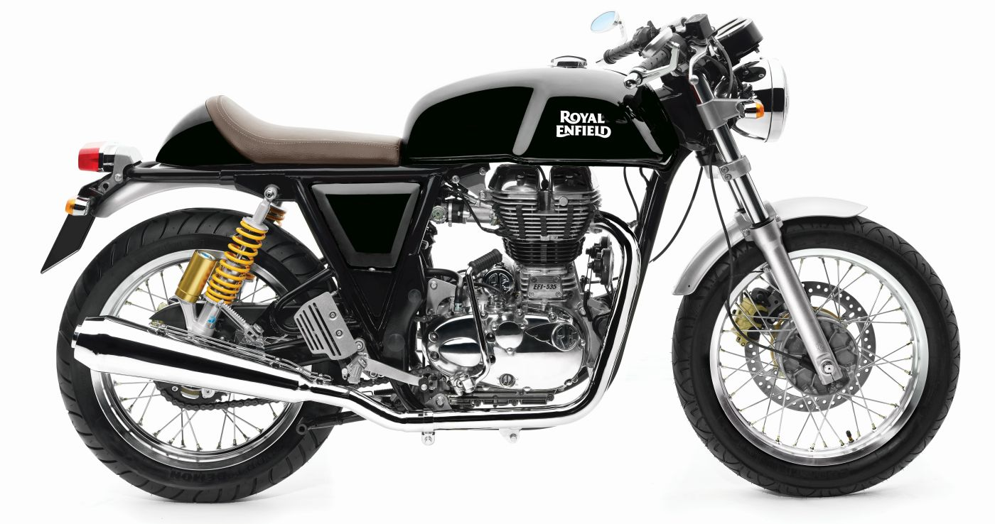 royal enfield continental gt cafe racer available black color