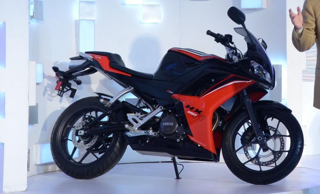 Hero HX250R – 250cc Sports Bike