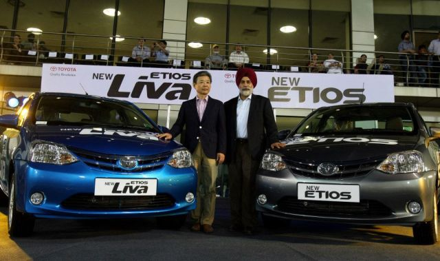 New Etios and Etios Liva