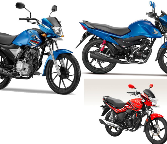 Yamaha Saluto RX vs Hero Passion XPro vs Honda Livo