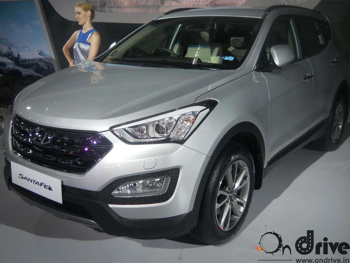 Hyundai Santa Fe Specification Amp Price In India