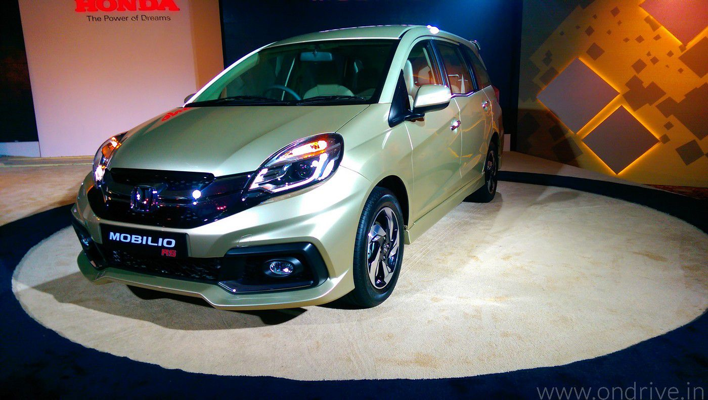 Best Auto Recovery >> Honda Mobilio - The Perfect MPV for Indian Family