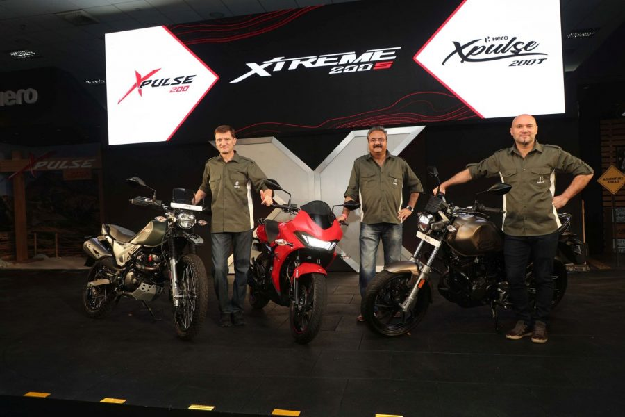 Hero XPulse 200, XPulse 200T & Xtreme 200S launched